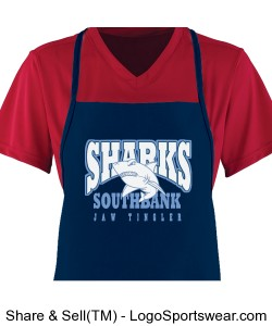 Sharks Apron Design Zoom